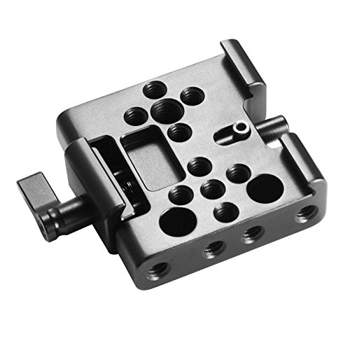 SMALLRIG Clamp for Manfrotto Standard Dovetail SMALLRIG 1280, 1460, 1647 and 501PL Plates - 1716