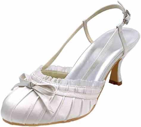 Sky-Pegasus sandals Summer Sexy Women Black Closed Toe Slingbacks High Heels  Satin Women s Wedding 773dfd997f6c