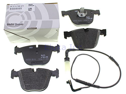 BMW Genuine Rear Set Of Brake Pads With Wear Sensors E60 E60N E63 E63N E64 E64N 545i 550i 535i 550i 645Ci 650i 650i 645Ci 650i 650i