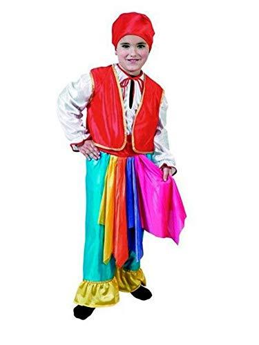DISBACANAL Disfraz zíngaro Azul Infantil - Único, 4-6 años: Amazon ...