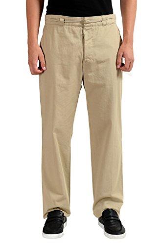 Maison Martin Margiela Men's Beige Casual Pants US 32 IT - Margiela Martin Maison