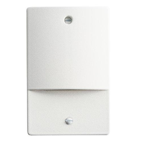 White Finish Deck Lighting - 9