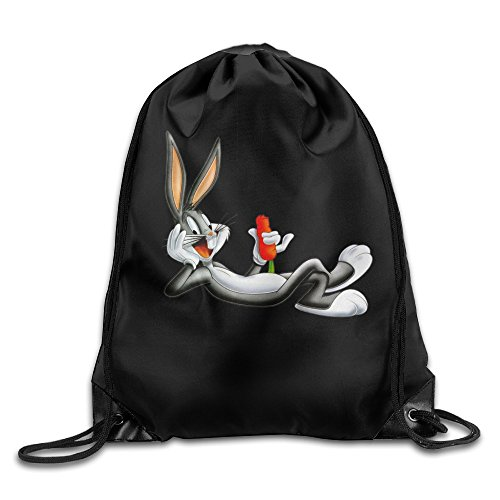 QIDAMIAO Looney Tunes Bugg Drawstring Backpack/Bags