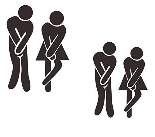 Tapa del WC Auto Adhesiva Zombi Apropiado para Fiestas de Terror y Fiestas escalofriantes 60,9 x 30,4 cm Escalofriante WC Sticker para el ba/ño e Inodoro/