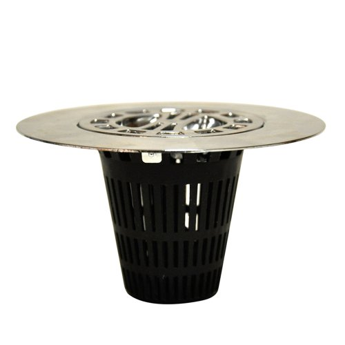 DANCO Hair Catcher Strainer Snare for Stand-Alone Shower Drain Cover for 3-inch Shower Drain...