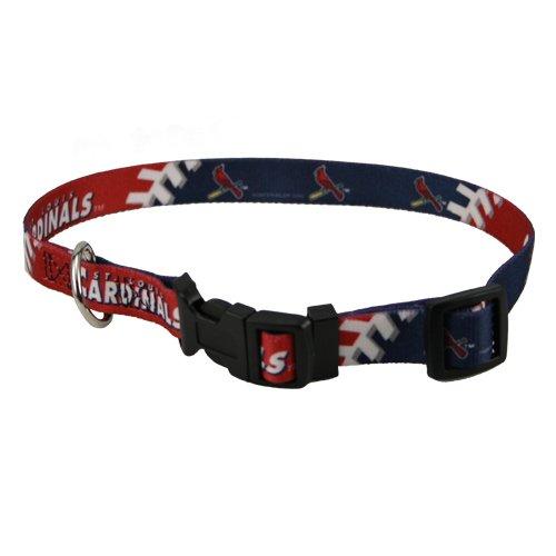 HUNTER MLB St Louis Cardinals Adjustable Dog Collar (Medium)