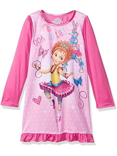 Disney Fancy Nancy Girls Long Sleeve Nightgown Pajamas