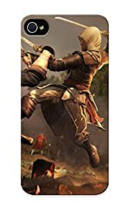 (DujAF0bOhaz)durable Protection Case Cover With Design For Iphone 6 4.7(assassins Creed 3 Warriors Bales Jump Games Warrior Fantasy )