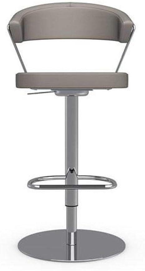 INSIDE Chaise de Bar New York Design en Tissu Enduit