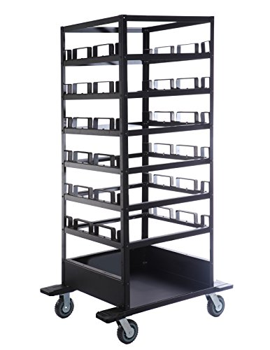 18 Post Stanchion Cart | Portable Moving or Storage Stanchion Cart by Epic