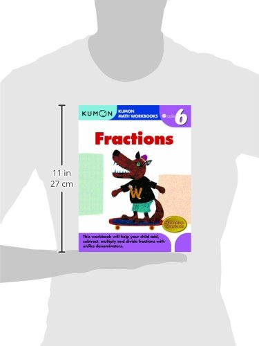 Grade 6 Fractions (Kumon Math Workbooks): Kumon Publishing ...