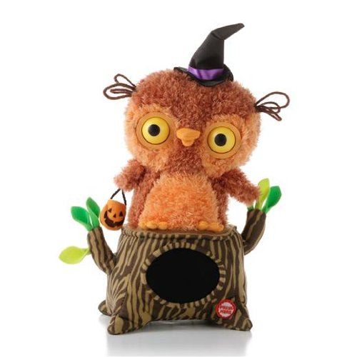 Hallmark Whoo's Watching Me Singing Owl Interactive (Owl In A Tree Halloween)