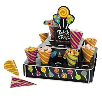 Halloween Treat Cones with Stand (Treat Cone Stand compare prices)