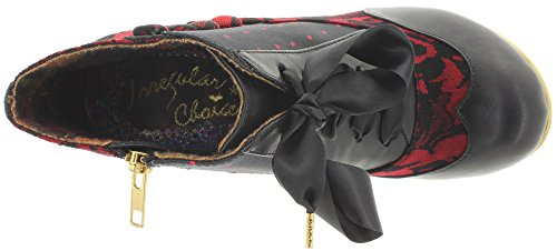 Irregular Choice Blair Elfglow - Botines Para Mujer Red (Red Multi)