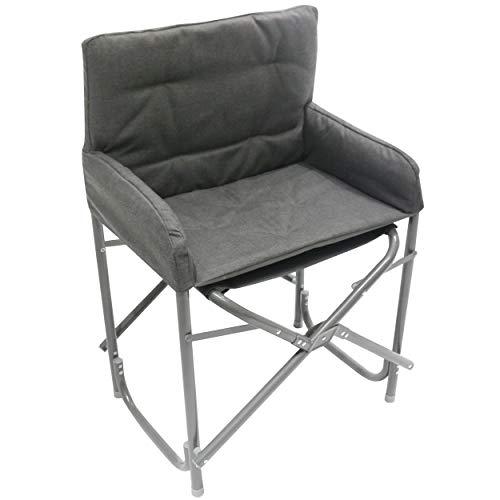 🥇 Homecall – Silla plegable de aluminio con respaldo