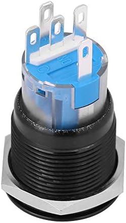 Keenso 12v Dc Led Auto Motor Start Stop Druckschalter Zündung Starter Schalter Universal Metall Drücken Led Druckschalter Weiß Schwarz Auto