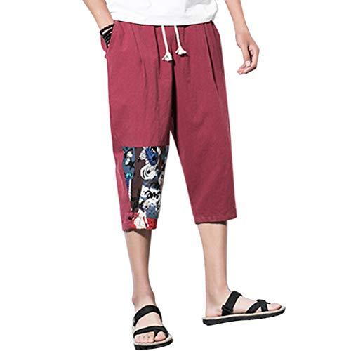 M 5xl Sport Festivo Rot 3 Pantalone Taglia Uomo Lannister Pantaloni Cargo Spiaggia Confortevole Di Da 4 Abbigliamento Con Estivi Traspirante Corti Pantaloncini Lino Coulisse ISwvB1