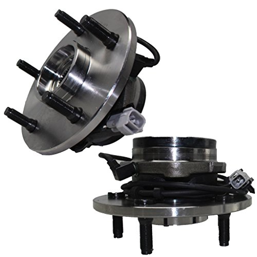 1 Bearing Assembly (Driver and Passenger Side Front Wheel Hub and Bearing Assembly 2000-01 Dodge Ram 1500 4x4 5 Lug w/4-Wheel)
