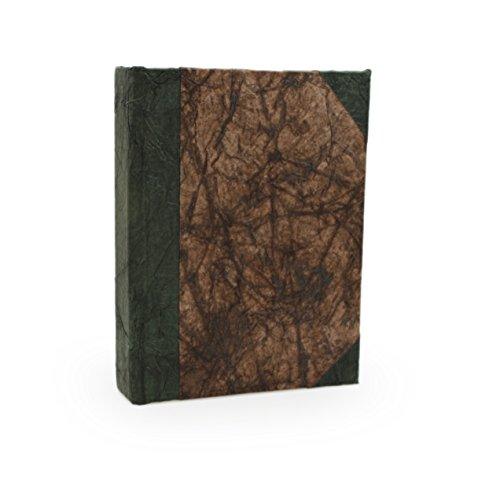 Nepali Eco Journal with Vintage Lokta Paper. Hand-made in Nepal. (3x5