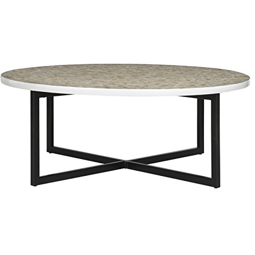 Ordinaire Safavieh Home Collection Cheyenne Coffee Table, Cream