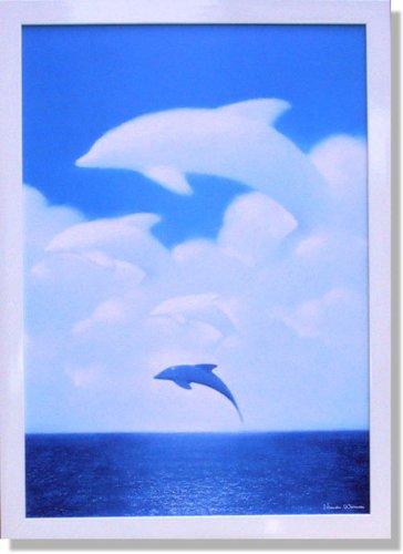渡辺宏流れる雲とともに(複製画) B008EQ57AK