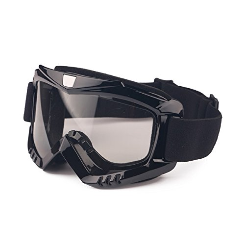 EnzoDate Motorcycle Dirt Bike ATV Goggles Mask Detachable Protect Padding Helmet Sunglasses Road Riding UV Motorbike Glasses