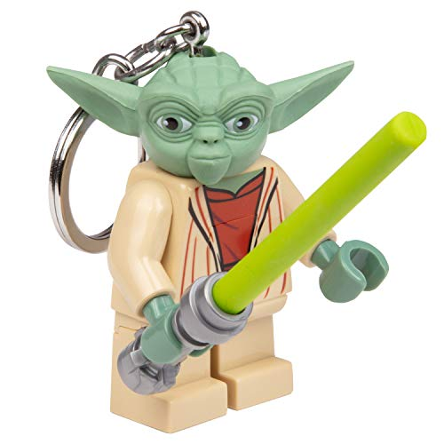 LEGO Star Wars - Yoda with Lightsaber LED Key Chain Flashlight