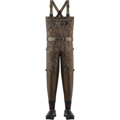 LaCrosse Men's Insulated Alpha Swampfox 1000G Waders, Brown, 11 M - Lacrosse Waders