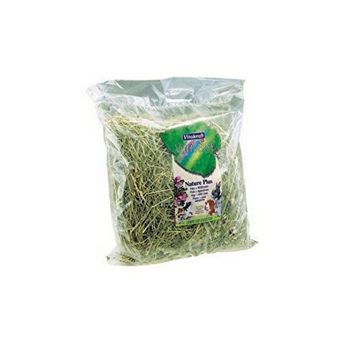 Vitakraft green Hay and Wild pink (500g) (Pack of 4)