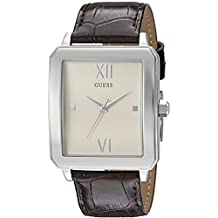 GUESS Men's U0918G1 Analog Display Quartz Brown Watch