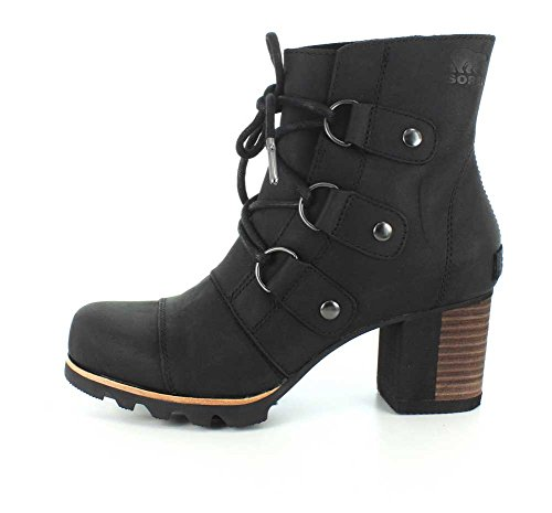 Black Addington Up Women's Lace SOREL Booties XCqA6wnYO