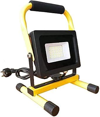 Wanmei®Luz De Trabajo Led Portátil 20W 1800 Lumen Proyector 1 5M ...