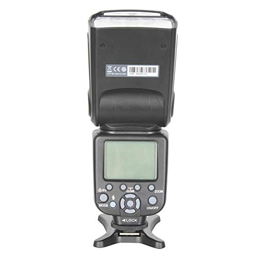 Triopo TR-982ii TTL高速フラッシュスピードライト対応Canon DSLRカメラ, (SKU : S-DCA-0431B) B07N2QVVMY