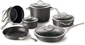 Calphalon Contemporary 11-Piece Aluminum Nonstick Cookware Set