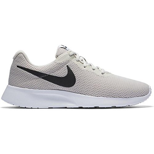 NIKE Mens 812654 Fabric Low Top Lace up, Light Bone/Black-White, Size 11.5 by NIKE