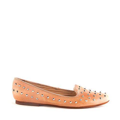 Felmini - Zapatos para Mujer - Enamorarse com Lisboa 7951 - Bailarinas - Cuero Genuino - Marrón claro - 0 EU Size Marrón claro