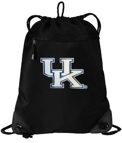 Kentucky Wildcats Drawstring Bag University of Kentucky Cinch Pack Backpack UNIQUE MESH & MICROFIBER