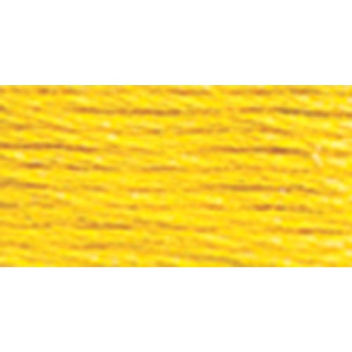 DMC 116 8-973 Pearl Cotton Thread Balls, Bright Canary, Size 8 - Canary Kitchen Towel