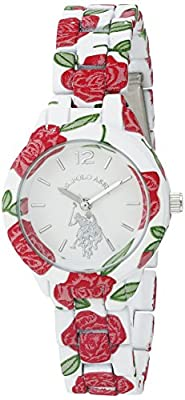 U.S. Polo Assn. Women's Quartz Metal and Alloy Automatic Watch, Color:Two Tone (Model: USC40102)