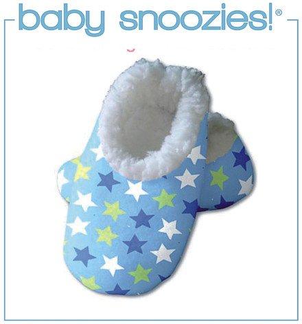 Kuschel-Hausschuhe Baby Snoozies Baby-Hausschuhe (S, Mini Stars)