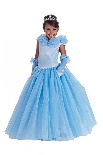 (Princess Paradise Child Princess Cynthia Costume, X-Small)