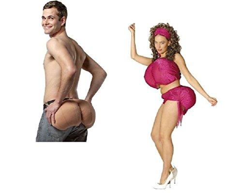 Break Dancer Halloween Costume (Ultimate Butt Costume Undergarment Adult Accessory Padded Booty Bum Buttocks Ass)