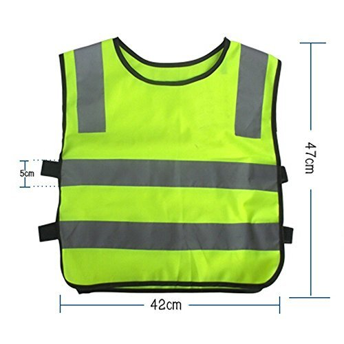 Price comparison product image vanki Streak Reflective Vest for Running Cycling Walking