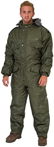 Green IDF Snowsuit Winter Clothing Snow Ski Suit Coverall Insulated Suit