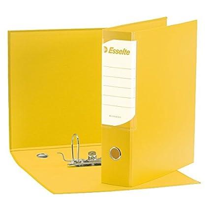 Esselte Raccoglitore con meccanismo a leva e custodia Business 390795050 Dorso 8 cm Cartone rivestito in polipropilene Blu Formato Protocollo