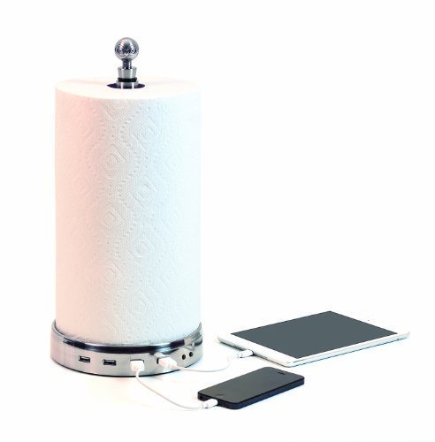 TowlTunes 1.1 (USB paper towel charger with Bluetooth speakers)