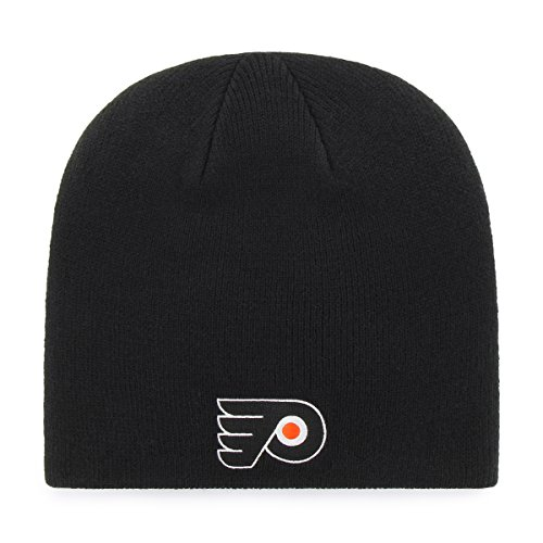 OTS NHL Philadelphia Flyers Beanie Knit Cap, Black, One Size