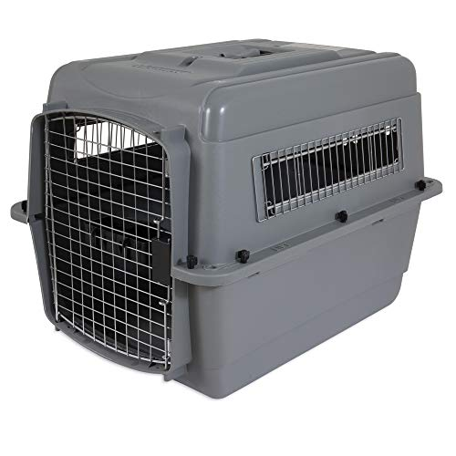Petmate 00200 Sky Kennel for Pets from 25 to 30-Pound, Light Gray