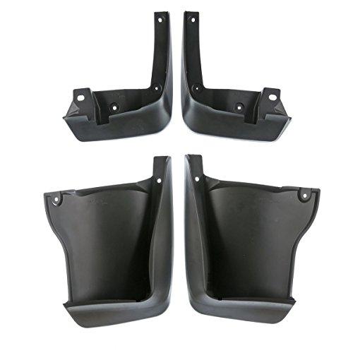 4pcs Front and Rear Mud Flaps Splash Guards Set for Honda Accord 2008-2012 Sedan
