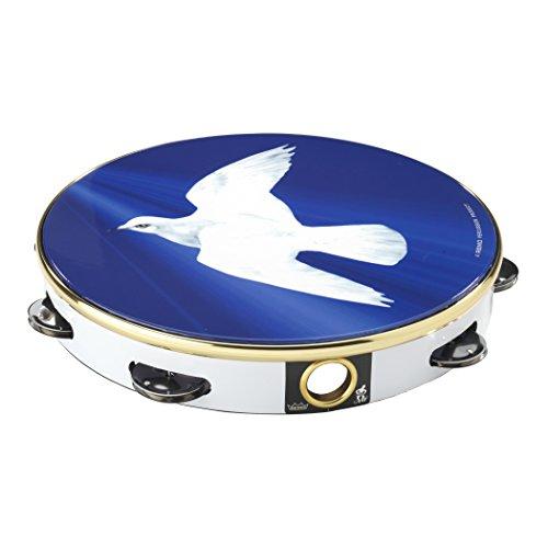 (Remo TA911018 Religious Tambourine (10-Inch) - Dove)